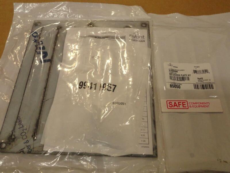 "Hoffman AVK86SS6 Louver Plate Kit 8.19"" x 9.50"" 14GA 316 Stainless Steel MM-571"