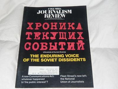 COLUMBIA JOURNALISM REVIEW MAGAZINE / SEPTEMBER OCTOBER 1978 / SOVIET DISSIDENTS
