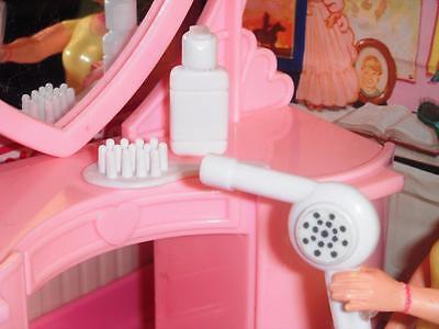 Barbie Hairdryer Brush Shampoo Lot fits Fisher Price Loving Family Dollhouse