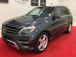 2014 Mercedes-Benz M-Class ML350 + BlueTEC + PREMIUM PACK + SPOR
