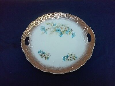 Royal Brunswick Germany Open Handle Cake Plate