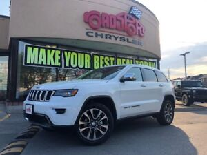 2018 Jeep Grand Cherokee Limited PANO ROOF NAVI R-CAM MEMORY SEA