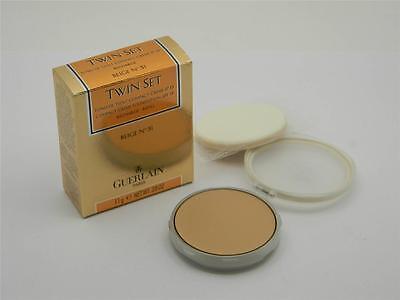 Guerlain Beige Foundation - Guerlain Twin Set Compact Creme Foundation SPF 15 Beige 51 New In Box Refill
