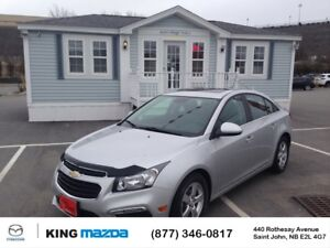 2015 Chevrolet Cruze 2LT- $100 B/W 6 SPEED MANUAL..LEATHER..POWE