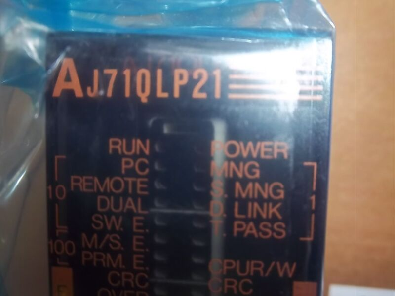 Mitsubishi Melsec Aj71qlp21 Link Unit, Ships Today, 12 Mo. Warranty