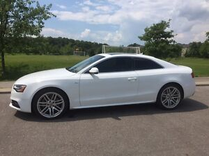 2017 White Audi A5 S-Line Lease Takeover