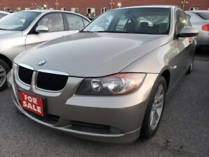 2008 BMW 3 Series 323i 2.5L/EXTRA CLEAN/LEATHER/SUNROOF/ALLOYS