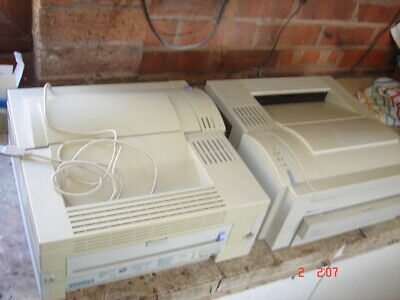Two HP Laserjet 4L printer with USB cable  for spares only  for sale  Shipping to Nigeria