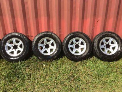 6 stud Mags with Nexen 235/75 R15 A/T tyres Doon Doon Tweed Heads Area Preview