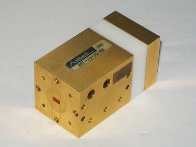 Hughes Millitech U Band Microwave Millimeter Waveguide Filter Wr19