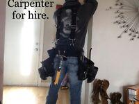 Carpenter/builder for hire?