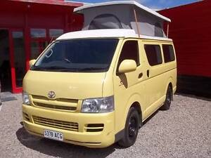 2007 Toyota Hiace Campervan Low K's Why Pay 60K! This is Unique! Adelaide CBD Adelaide City Preview
