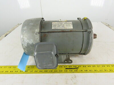 Dayton 3m3456 3hp Electric Motor 230460v 3ph 184tc Frame 1740rpm