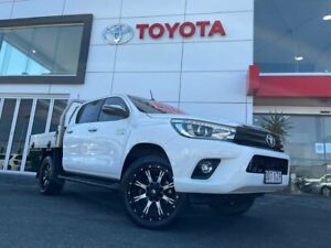 2018 Toyota Hilux GUN126R SR5 Double Cab White 6 Speed Sports Automatic Utility Tweed Heads South Tweed Heads Area Preview