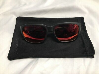 Scott C-Note Sunglasses, Black and Red, Cycling, (Black And Red Sunglasses)