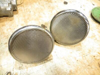 John Deere 1939 A B D 7 Inch Flat Lens Headlights Ad2450r