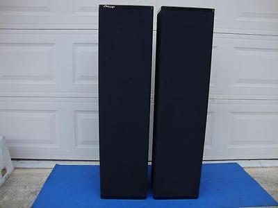 Absolutely Beautiful Mirage M-1090i Floor Bi-Polar Speakers (upgraded Om-10) Absolute Home Audio Speakers