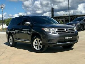 2013 Toyota Kluger GSU45R MY12 KX-R AWD Grey 5 Speed Sports Automatic Wagon Somersby Gosford Area Preview