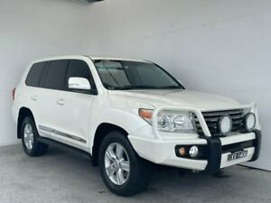 2012 Toyota Landcruiser VDJ200R MY12 Sahara White 6 Speed Sports Automatic Wagon Mount Gambier Grant Area Preview