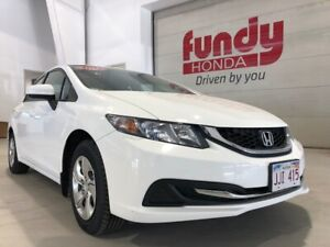 2015 Honda Civic Sedan LX w/factory remote stater ONE OWNER, NO