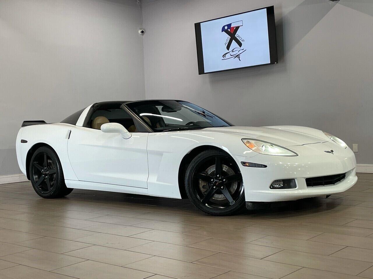 2007 White Chevrolet Corvette Coupe  | C6 Corvette Photo 1