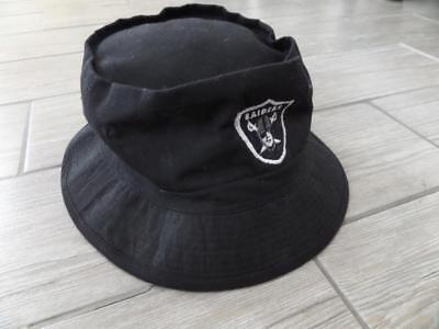 056f6c4a0a3db vtg 1990s Bucket Hat LA RADIERS Black Spellout snapback nwa