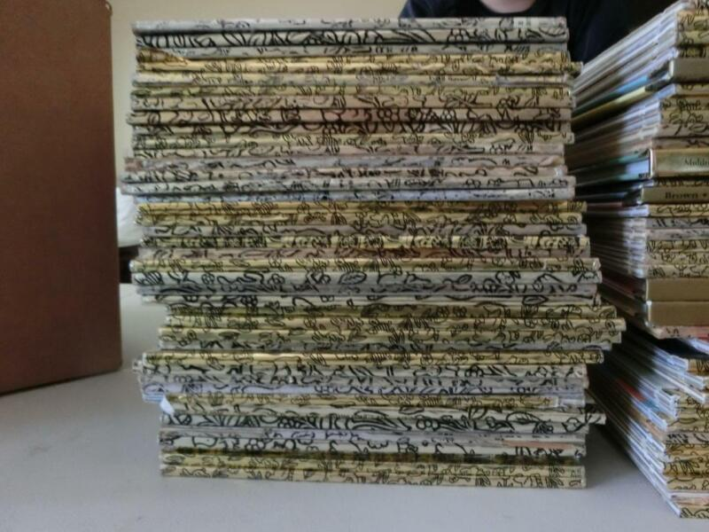 HUGE LOT 80  LITTLE GOLDEN BOOKS VINTAGE MODERN LOT