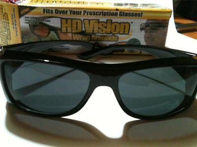 HD Vision Wraparounds Fit over Dark Lenses Daytime Sunglasses Ships from (Hd Vision Wraparounds Sunglasses)