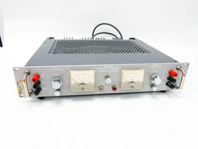 Harrison Laboratories 802b Twin Low Voltage Power Supply 0-36v 0-1.5a