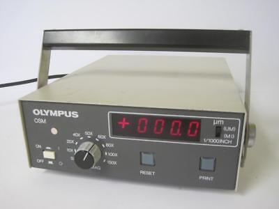 Olympus Optical Co Osm-dc Osmdc Controller Used Rare Laboratory Lab Equipment