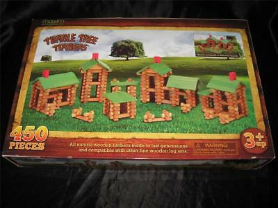 - NIB 450 Piece TUMBLE TREE TIMBERS by Maxim ~ Fit With Lincoln Logs ~ Fun Gift!