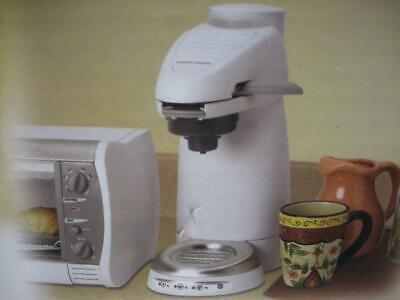 New Black & Decker Home Cafe AM8 1 Cup Pressure Brewing Coffee Pod Maker White (Home Cafe Pods)