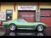 Miniature 1 Voiture American classic Chevrolet Corvette 1972