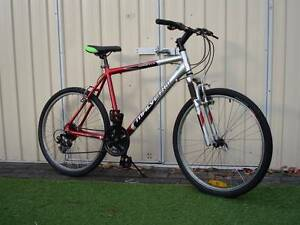 Aluminium Red and silver Mountain Bike Kingsford Eastern Suburbs Preview