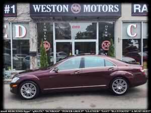 2008 Mercedes-Benz S 550 4MATIC*SUNROOF*PWR GRP*LEATHER*NAVI*BTO