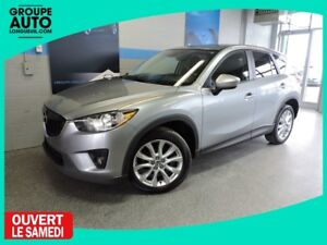 2014 Mazda CX-5 GT AWD CUIR TOIT GPS BOSE VERY LOW MILEAGE