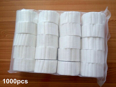 1000pcsbag Dental Disposable Cotton Rolls 1038mm High Quality