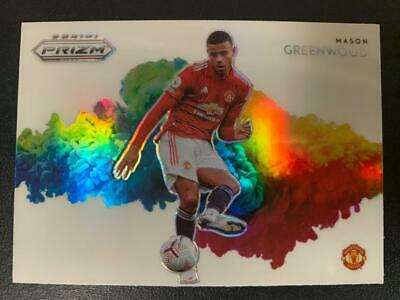 2020 Panini Prizm Premier League Color Blast #21 Mason Greenwood RC Rookie SP