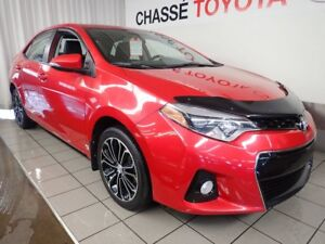 2014 Toyota Corolla S Groupe Technologie Cuir + Toit + Mags Rare