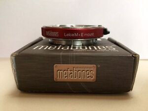 Metabones Lens Adapter: Leica M Mount to Sony FE (FF) / A7 Series Artarmon Willoughby Area Preview
