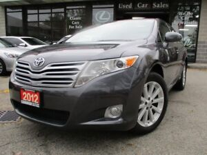 2012 Toyota Venza AWD-PRM-PKG-LEATHER-ROOF-CAMERA-HEATED
