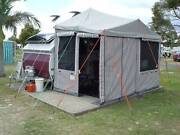 2005 A'van Aliner with custom-made 7ft wide extra-high annex Ashgrove Brisbane North West Preview