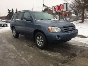 2007 Toyota Highlander AWD,SPORT,LEATHER,SAFETY+3YEARS WARRANTY