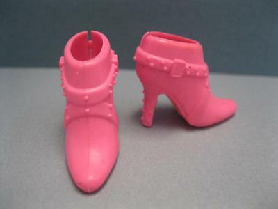 SHOES MATTEL BARBIE DOLL MILLICENT ROBERT RED HOT RED LOAFER LOW HEEL ACCESSORY