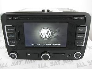 newest vw rns 315 rns315 bluetooth navigation system sat nav gps vw 310 510 f ebay. Black Bedroom Furniture Sets. Home Design Ideas