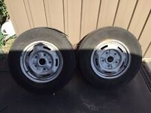 Ford transit van - wheels tyres RIMS - good condition FORD VAN RIMS! Dingley Village Kingston Area Preview