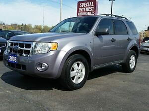 2008 Ford Escape XLT XLT 3.0L   HEATED LEATHER SEATS !!  POWE...