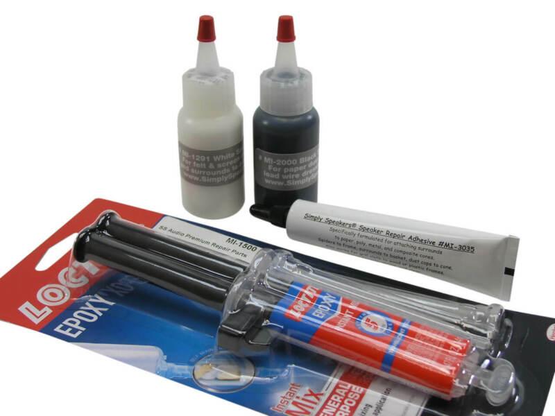 Special Speaker Glue - Adhesive Combo for Repair Recone Reconing # MI-Combo