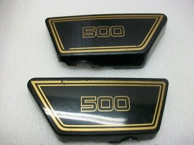 1977 78 Yamaha xs500 xs 500 Dohc side covers left right vintage fairing