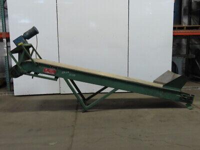 Livonia Incline Magnetic Slider Bed Belt Conveyor 100fpm 230460v 3ph 24x149